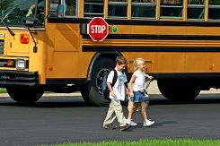 Riding the school bus can be a fun and exciting experience for kids who are getting their first taste of independence by making their own way to school.