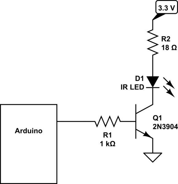 flickering led amplifier