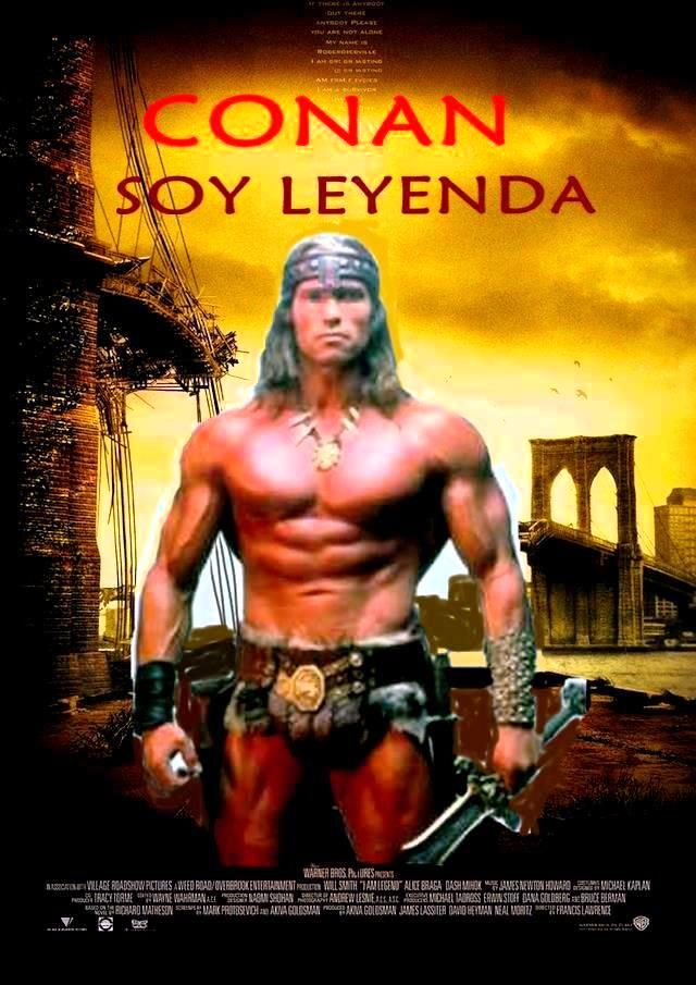 Conan  soy Leyenda