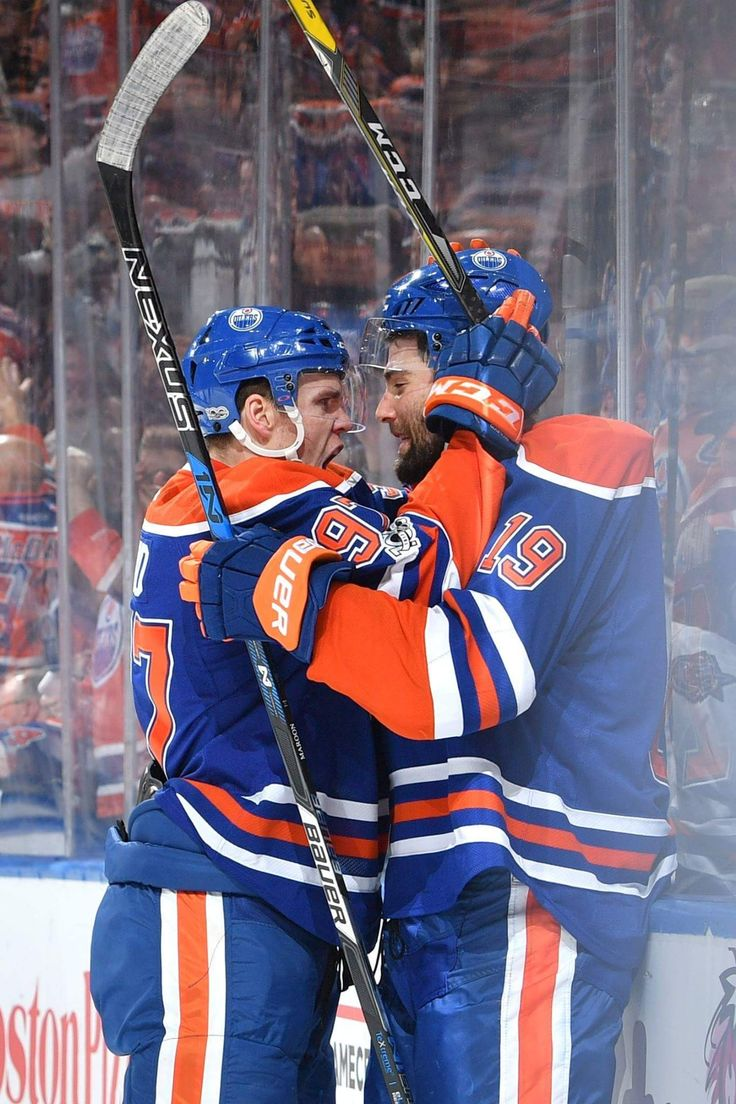 The best kinds of captains get this excited for his teammates' goals - intensity level off the charts. | Edmonton Oilers