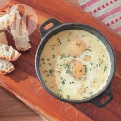 Baked Eggs with Ham @ allrecipes.com.au