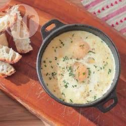 Baked Eggs with Ham @ allrecipes.com.au
