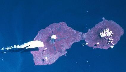 Imagen Satelite de la Isla de Ometepe, Rivas, Nicaragua