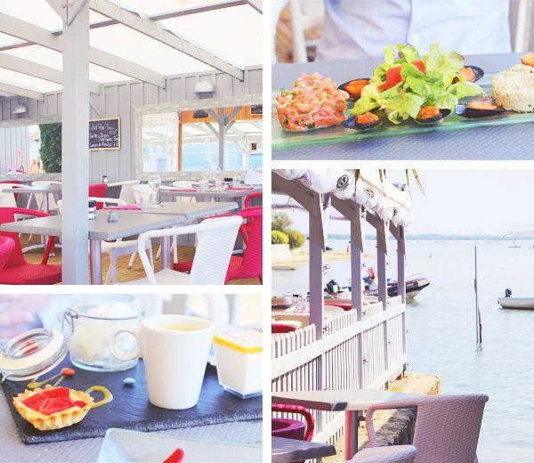 Le Platane, restaurant avec vue sur le Bassin à Taussat - Lanton (Bassin d'Arcachon)