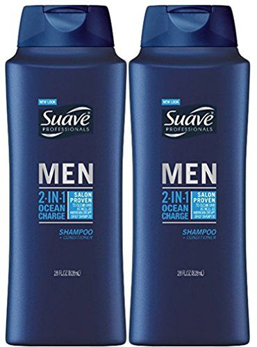 Suave Men 2In1 Shampoo Plus Conditioner Ocean Charge 28 Ounce Pack of 2 ** You can get additional details at the image link.Note:It is affiliate link to Amazon. #tagblender