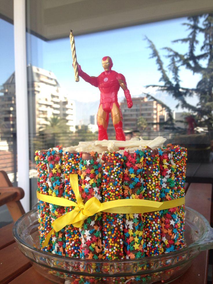 Torta cuchuflis improvisada :)