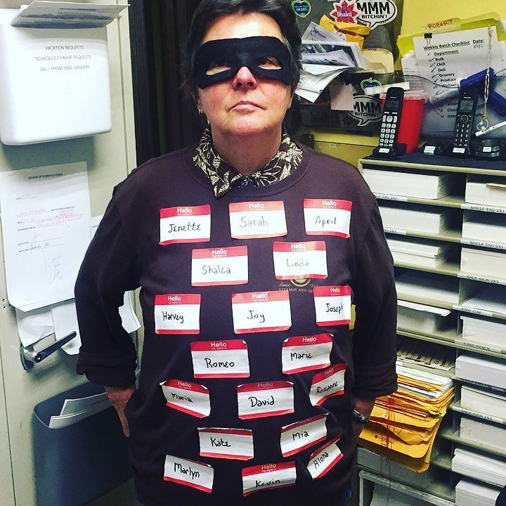 """No one likes an """"identity thief""""...except on Halloween!  Here's hoping you and your Ohana have a safe Halloween! #eathealthybehappy #downtoearthhi #lovelife"""