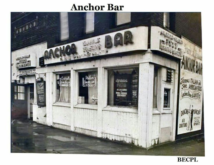 Anchor Bar, Buffalo, NY - origin of Buffalo wings