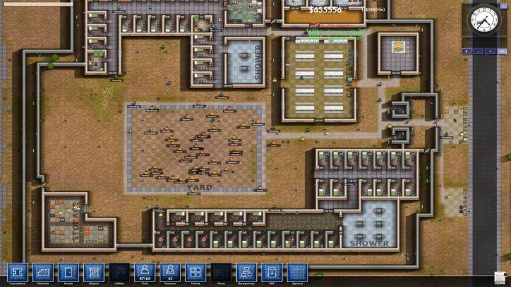 Screenshots of Prison Architect Alpha 33 PC Game