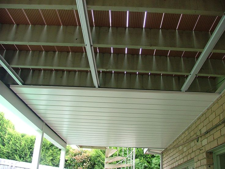 Waterproofing Decks Over Living Areas : Best ideas about deck canopy on pinterest backyard