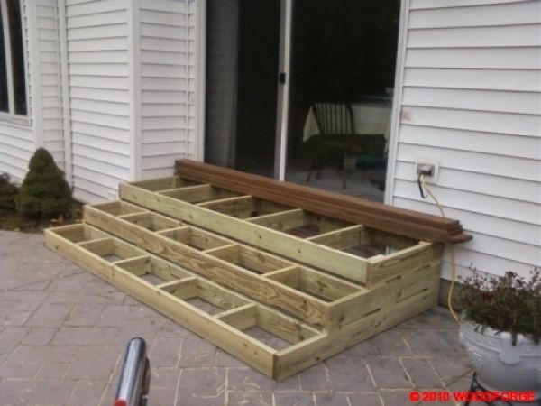 Box Steps Plans For Decks : Wooden patio steps porch stairs outdoor ideas