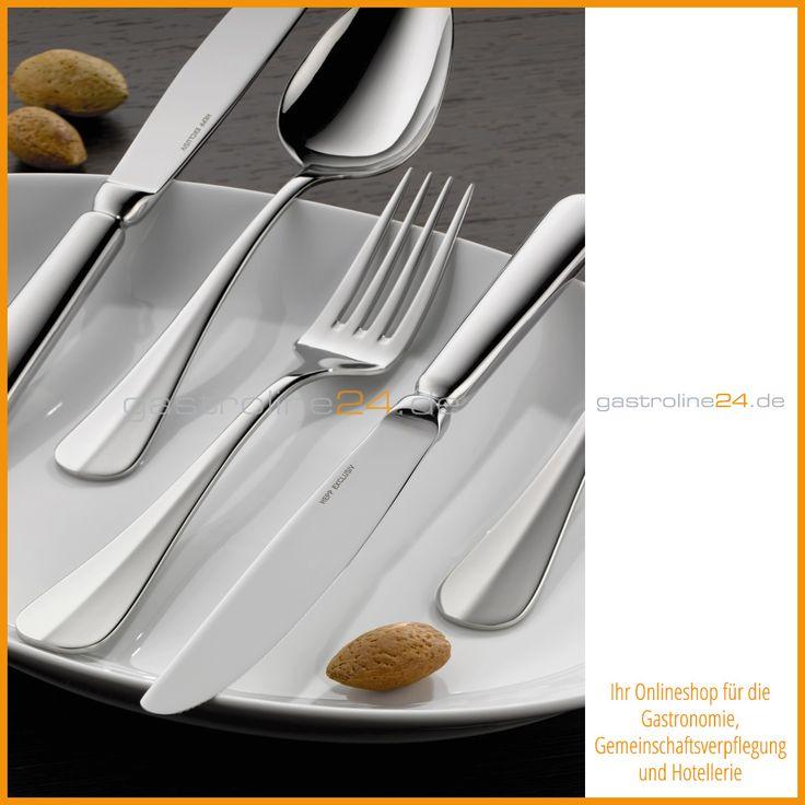 Das schlanke, anmutige Design von TALIA ist ein gelungenes Beispiel - edles geschirr besteck porzellan silber