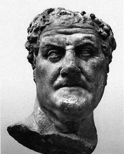 Wk 4: Anonymous Roman Politician (Hybrid Portraiture)