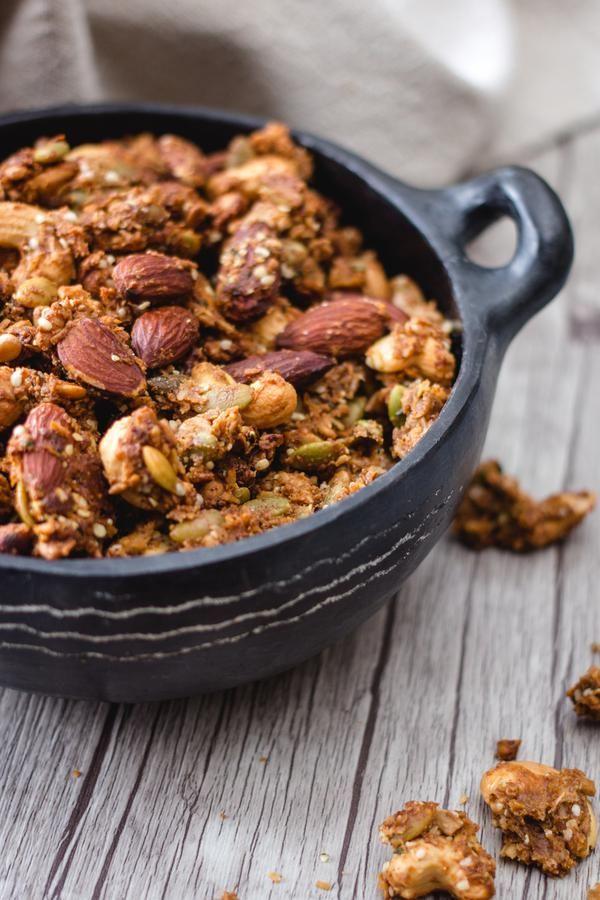 MEJOR Keto Granola! Idea de granola de mantequilla de maní Keto baja en carbohidratos – Ket rápido y fácil …