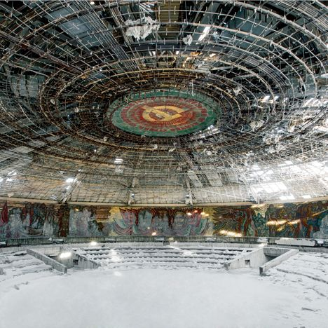 photographer Rebecca Litchfield has toured former Soviet countries to document the once-monumental structures around the Eastern Bloc that have fallen into decay.