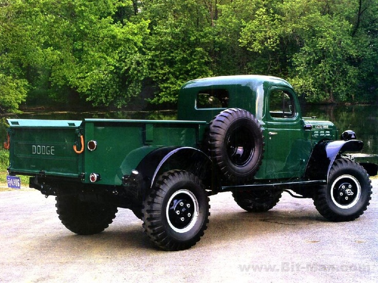 40's power Wagon...Pure Mopar Power