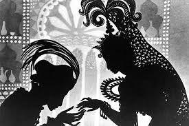 Image result for jan pienkowski black and white