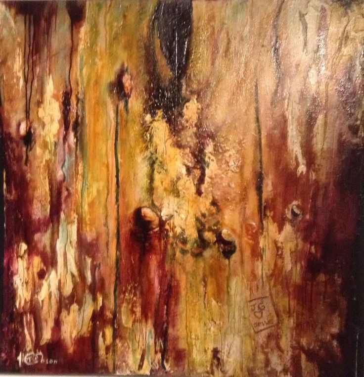 John Gibson - ArtistLeaving Our Mark  Mixed Media