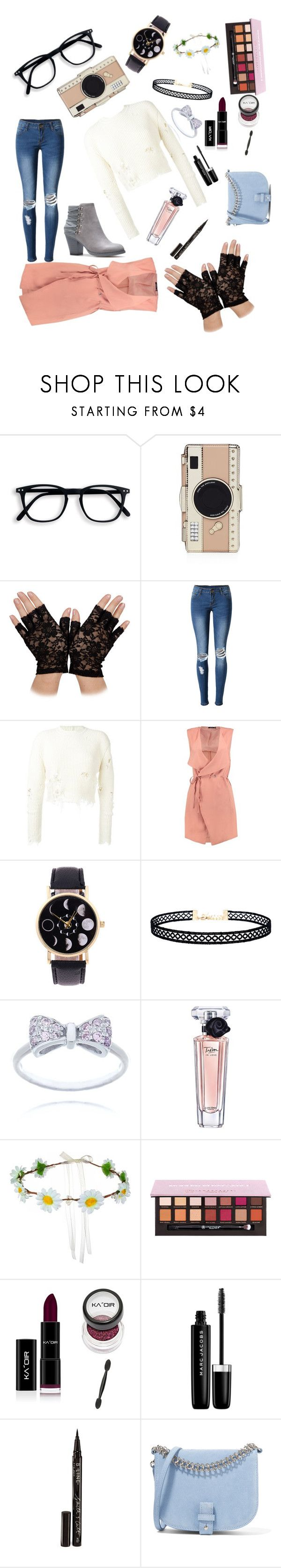 """Duster Coats-Daily"" by portzali ❤ liked on Polyvore featuring Kate Spade, WithChic, adidas Originals, Boohoo, LULUS, Lancôme, Marc Jacobs, Smith & Cult and Little Liffner"