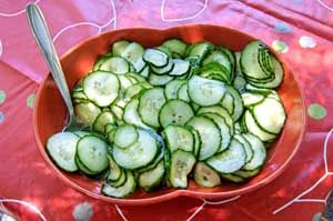 minted cucumber HCG recipe