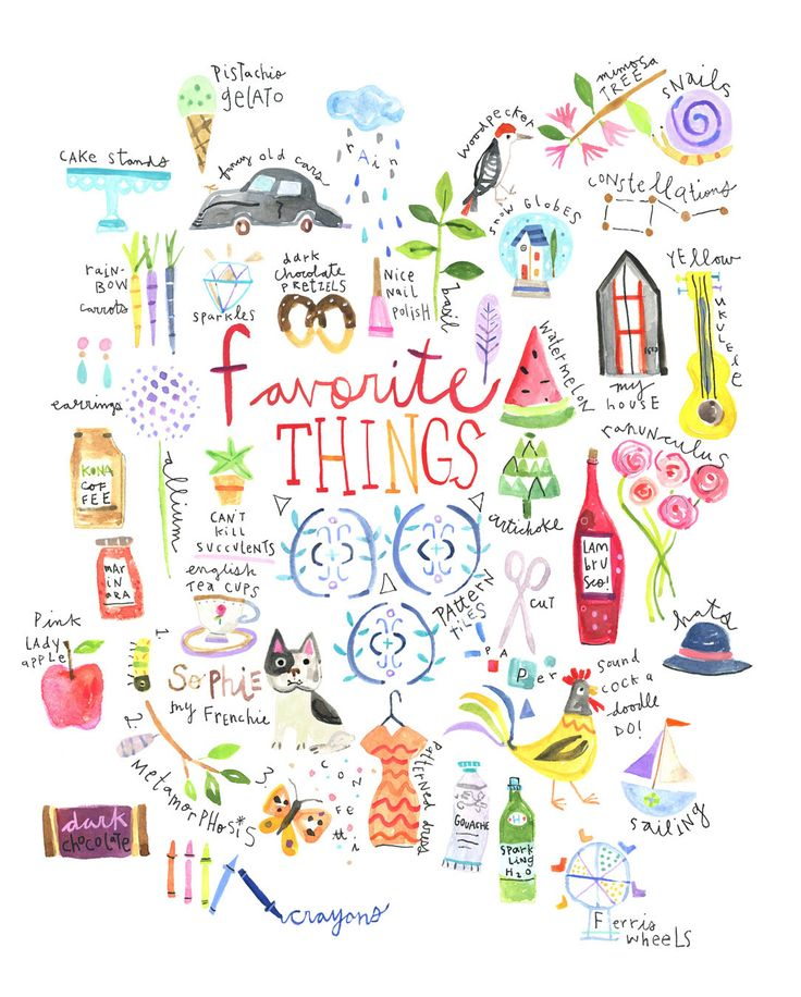 Favorite things