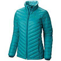 Mountain Hardwear Micro Ratio Down Jacket - Women's Emerald Medium