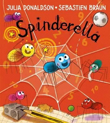 Spinderella - Julia Donaldson & Sebastian Braun. Not rhyming but lots of Maths - need to split spiders with 6 legs into two teams etc.