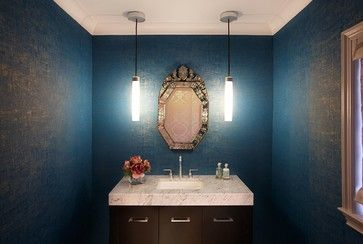 17 Best Images About Powder Room Makeover On Pinterest Powder Room Design Turquoise And Dark Wood