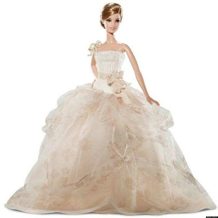 Photos 54 Years Of Bridal Barbies Barbie Wedding Dress
