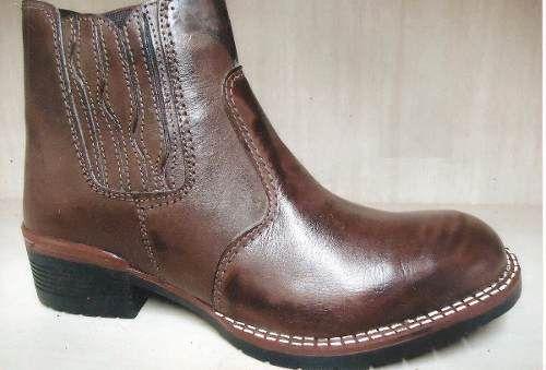 Bota Texana Country Masculina Couro Ref.8294