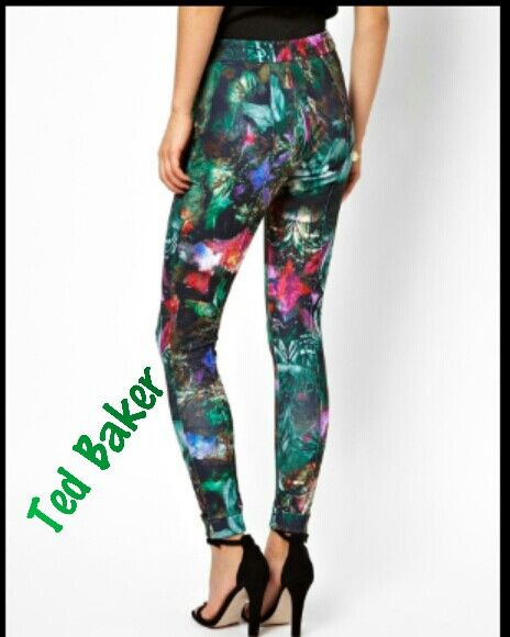 Love this floral pant would pair beautifully with Steve Madden heels