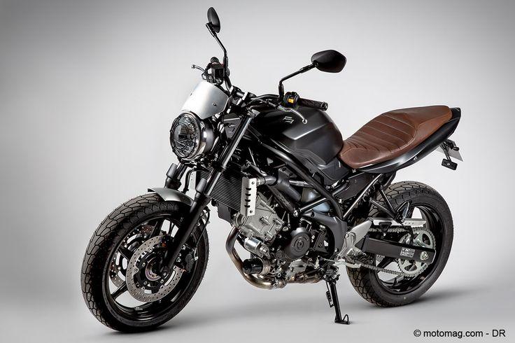 Suzuki propose une série limitée de sa SV650 en scrambler