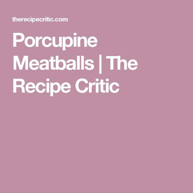 Porcupine Meatballs | The Recipe Critic