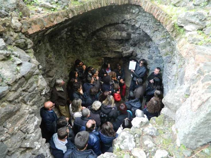 Catania Underground - Two unusual journeys through Catania thermal Baths, aqueducts, fountains and mysterious underground rivers.  #sicily #catania #ecotour #ecotourism #culture #history #holiday #visitsicily #unaltrasicilia #tailormadetrip #etna #mountetna #sea #myth #tasting