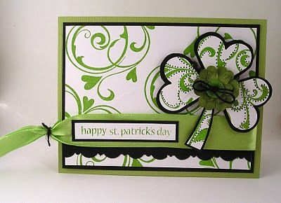 St. Patrick's Day: Patrick'S Sday Cards, Cards St., St. Patty, Patrick'S Cards Crafts, Cards Projects, Birthday Cards, Patterns Paper, Holidays Cards, Paper Crafts