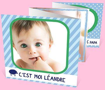 Faire-part naissance réf. N80001 chez monFairePart.com