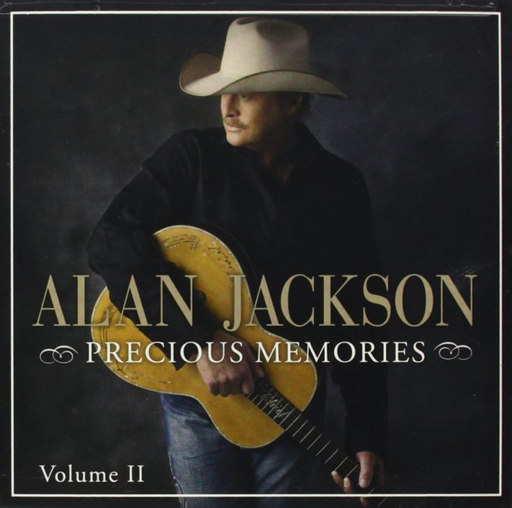 Precious Memories: Vol. II by Alan Jackson AUDIO CD Gospel NEW Free Shipping #CapitolChristianDistribution