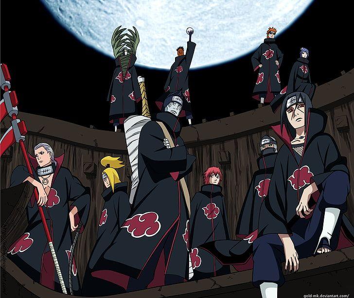 Akatsuki Naruto Anime Black Zetsu Deidara Naruto Hidan Naruto Hd Wallpaper Anime Akatsuki Naruto Wallpaper Akatsuki