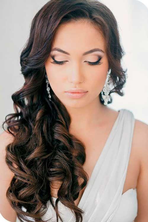 Wedding Hair Down Image