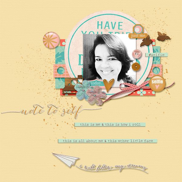 Selfie by Laurie Ann FB Freebie #3 by SheCreates