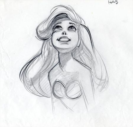 Ariel by Glen Keane                                                                                                                                                      Plus