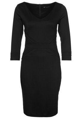 GITTE - Jerseyklänning - Svart