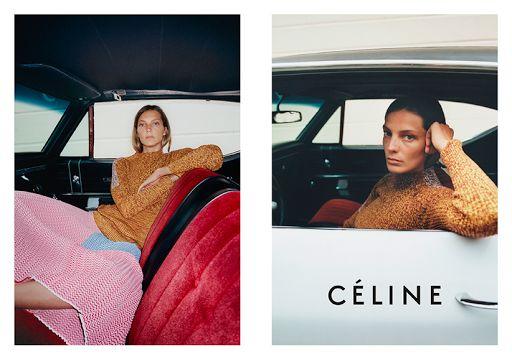Céline spring 2015 campaign