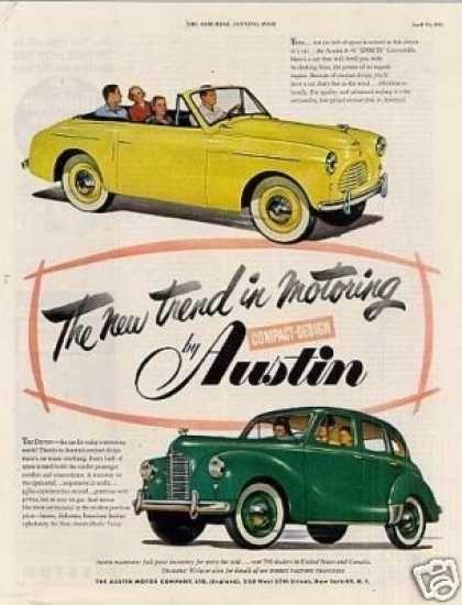 Austin Cars (1951)
