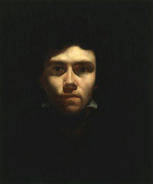 Portrait of Eugene Delacroix, Théodore Géricault c. 1819