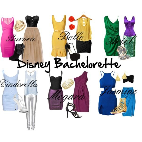 """Disney Bachelorette"" by anchoredtnbell on Polyvore"
