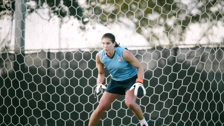 Pressure Makes Us: Hope Solo. Perfection.