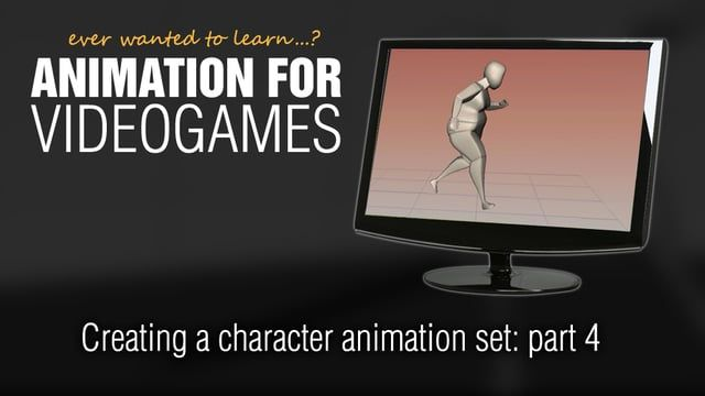 Animation for Videogames tutorial: Creating a character animation set - part 4 from James Marijeanne