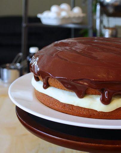 Boston cream cake | sidagi.gr