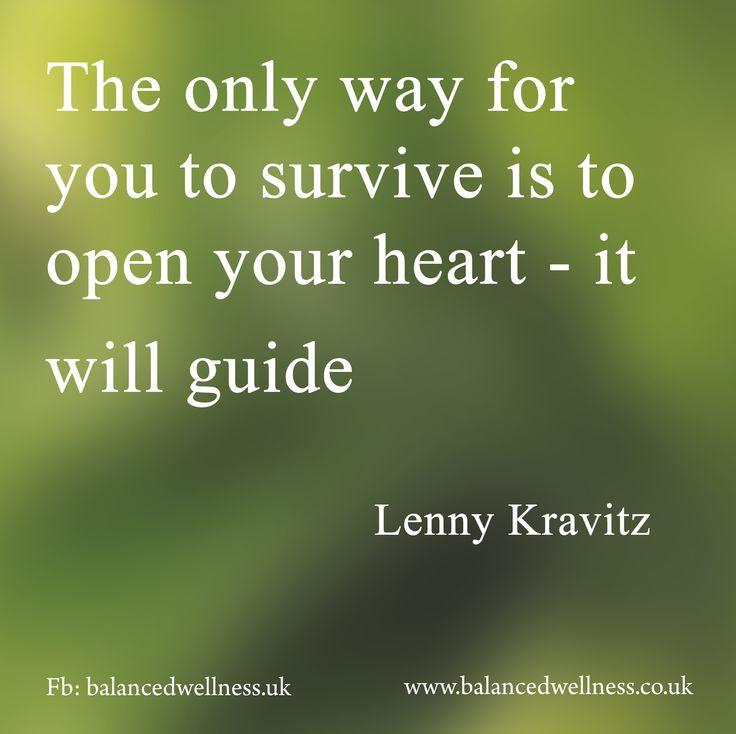 Thank you Lenny Kravitz for your wonderful words of wisdom….#emotionhealthconnection #reclaimyourlife #consciouslyhealthy #songlyrics #LennyKravitz #inspiration